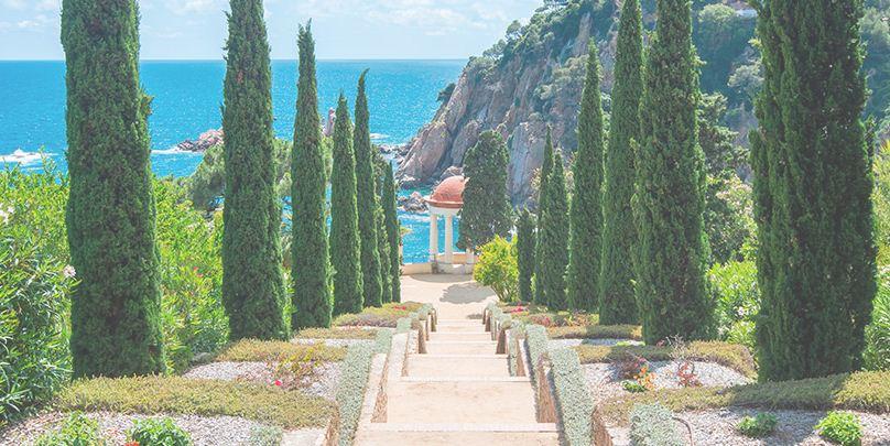 Los Jardines más bellos de Costa Brava