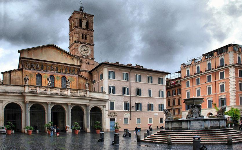 la bella Trasteveres, Roma