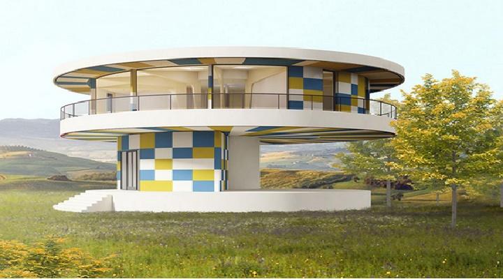 Sun house 360° casa para aprovechar al máximo a luz solar