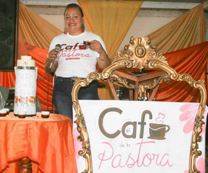 El Café  de la Pastora, es un espacio interactivo, indicó Mara Acosta