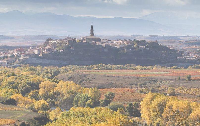 El pueblo de Briones.