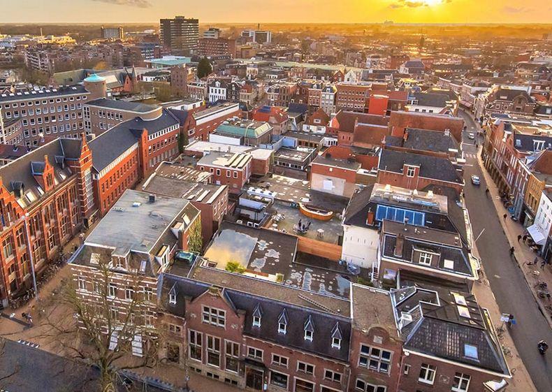 Groninga ciudad holandesa