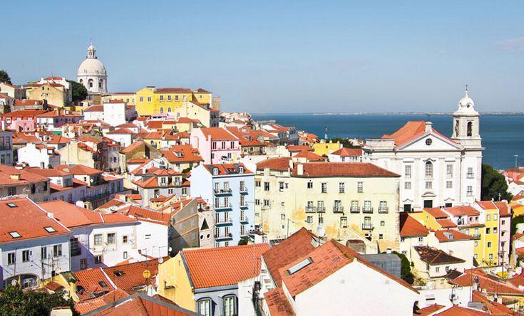Hermosa vista de Lisboa