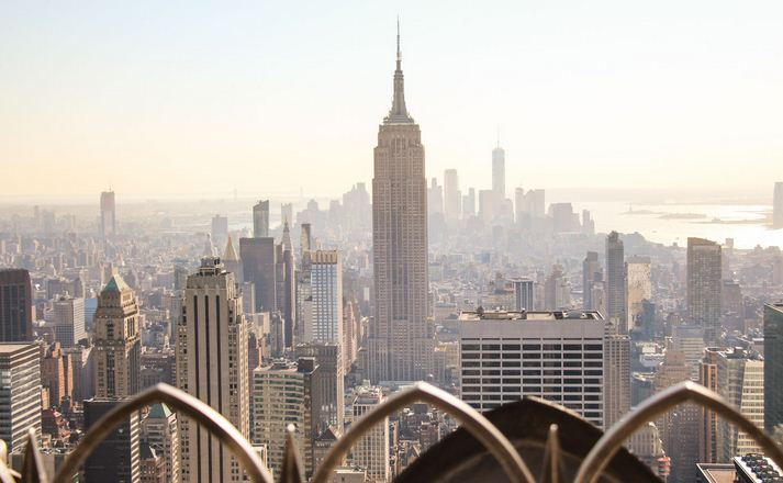 La Top of the Rock, en Nueva York