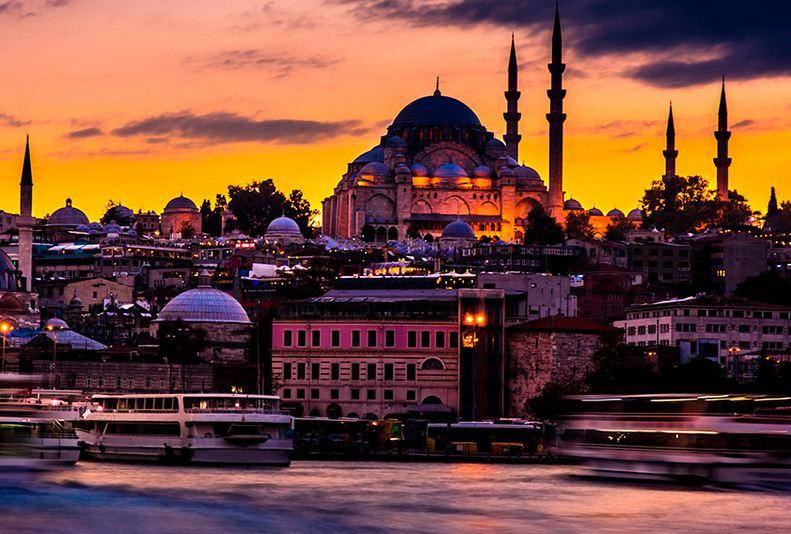 La vibrante Estambul.