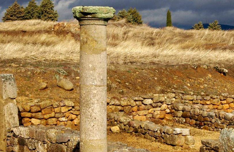 Las ruinas de Numancia