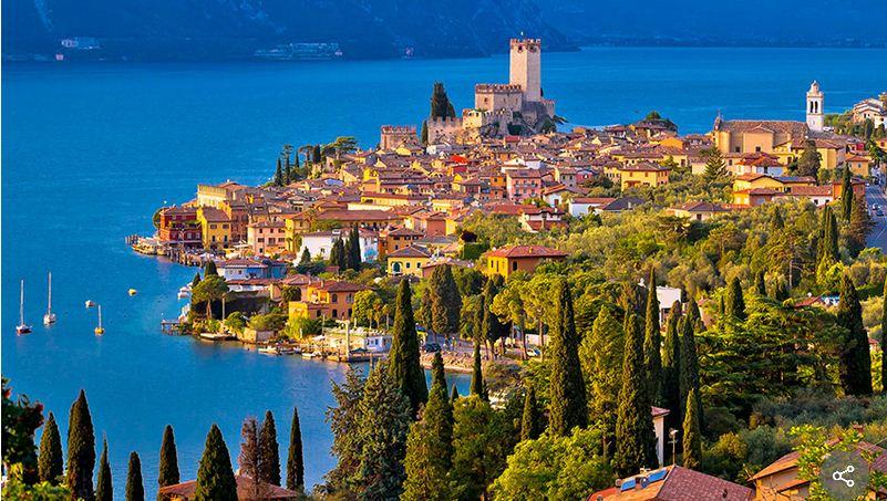 Malcesine en el Lago Di Garda