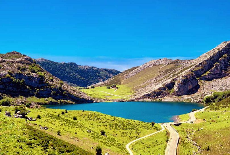 Miradores de Covalonga en Asturias