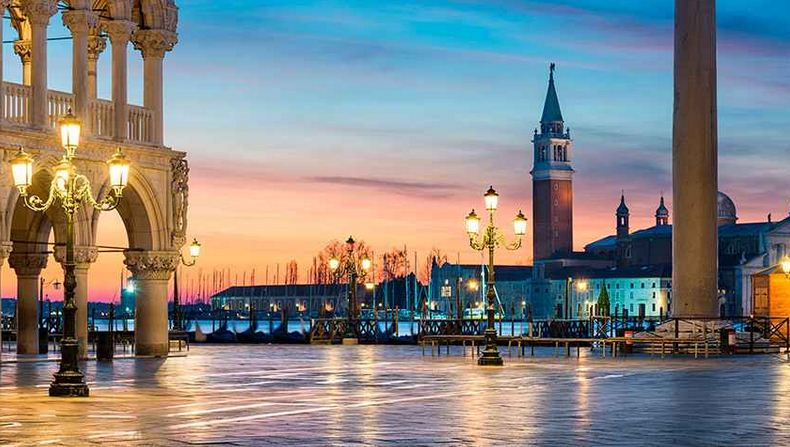 Plaza de San Marcos, en Venecia