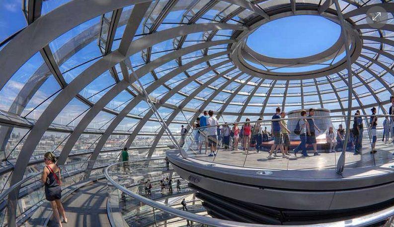 Reichstag, gran mirador en Berlin