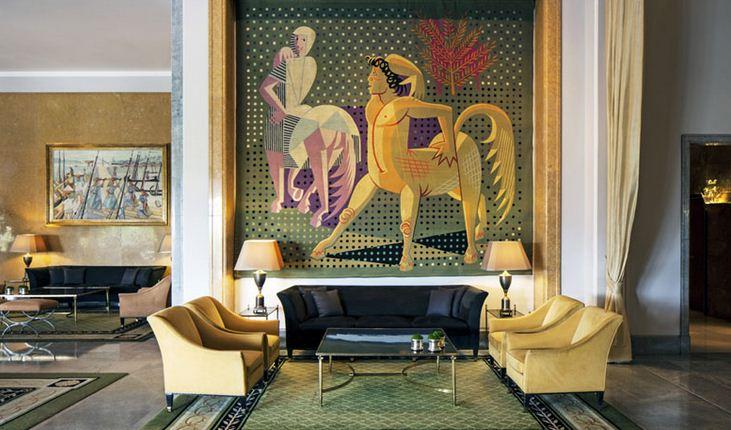Sus paredes guardan y conservan hermosas colecciones de arte