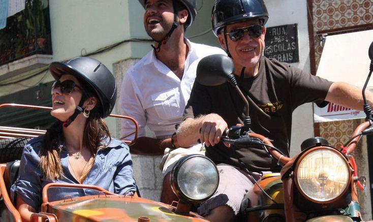 Recorre Lisboa en un fabuloso Sidecar