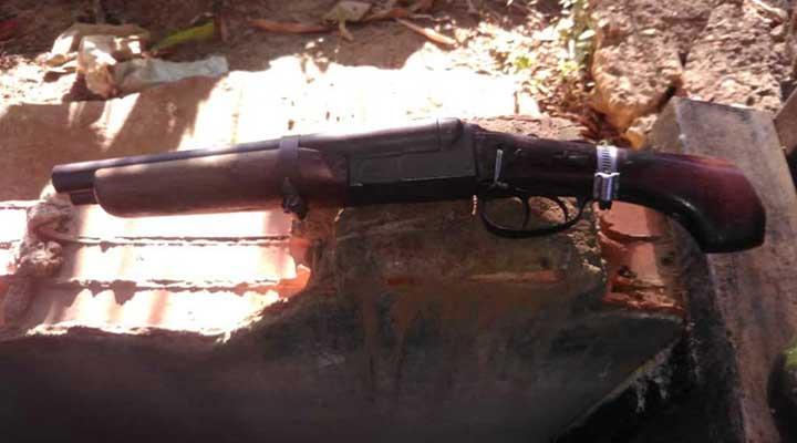 """Arma que portaba """"El Rana"""""""