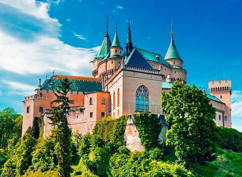 Castillo Bojnice en Eslovaquia