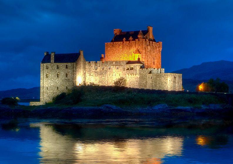 Castillo Eilean Donan en Escocia