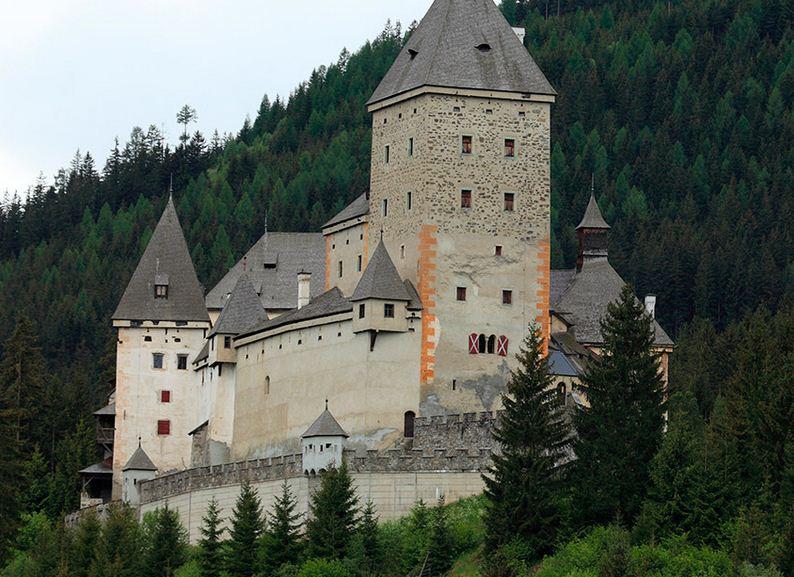Castillo de Moosham en Austria