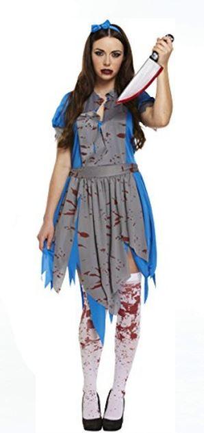 Alicia como Zombi