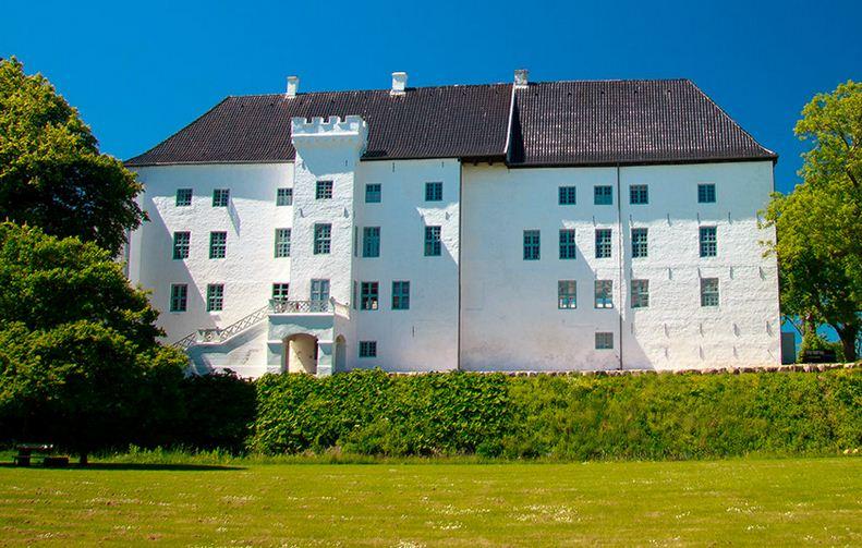 El Castillo de Dragsholm en Dinamarca