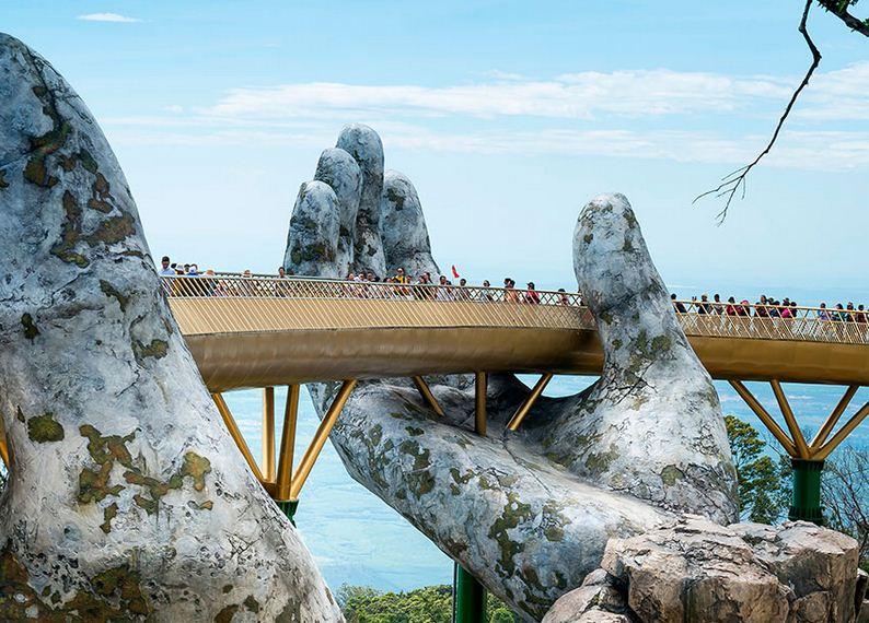 Golden Bridge en Vietnam