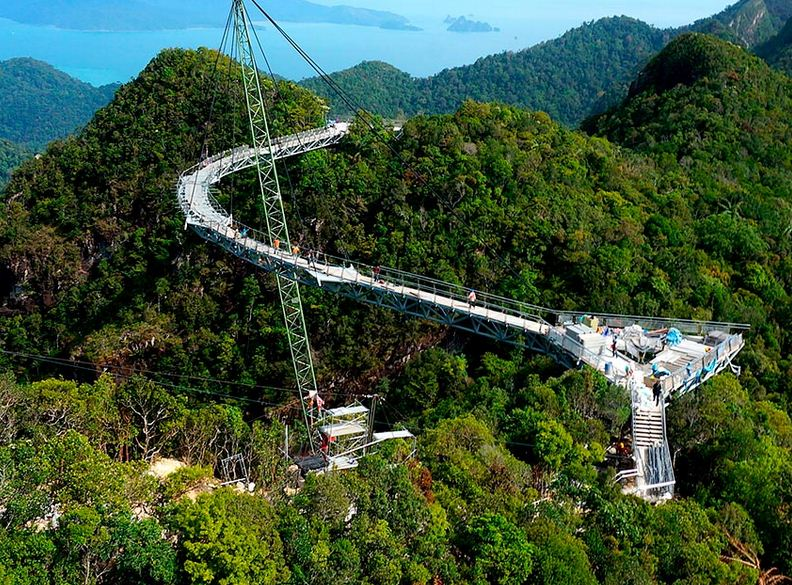 Langkawi Sky Bridge en Malasia