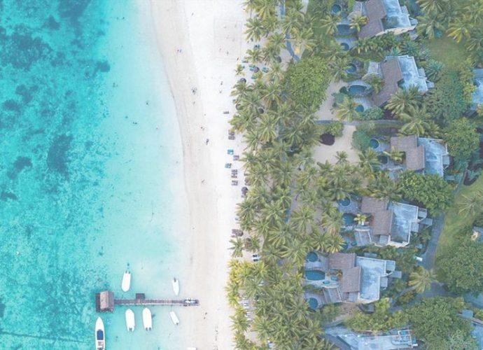 Playas de exuberante belleza en la Islas Mauricio
