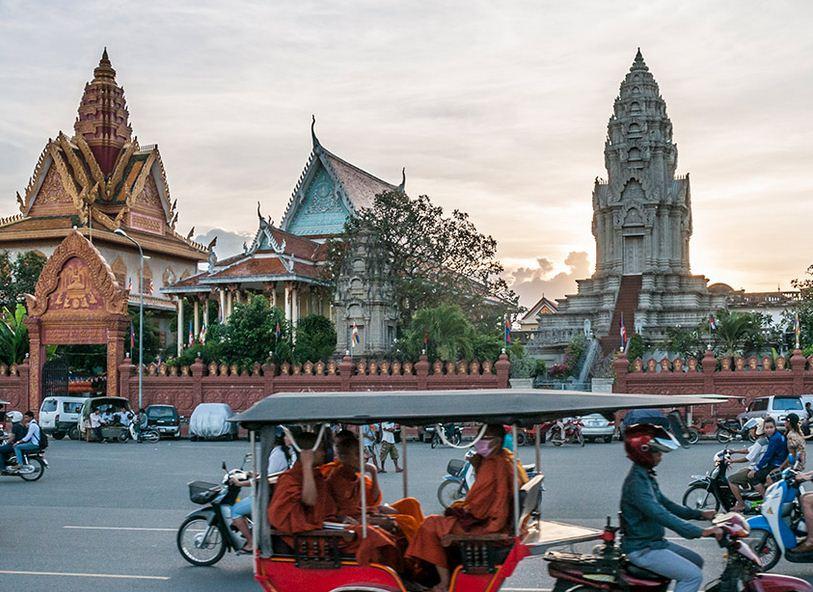 Talleres artesanos de Sien Reap de Camboya