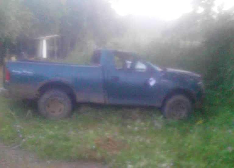 Vehículo modelo Fortaleza donde ocurrió el accidente.