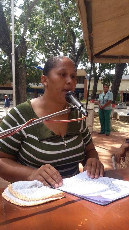 Representantes de los diferentes sectores del municipio Infante tuvieron su derecho de palabra.
