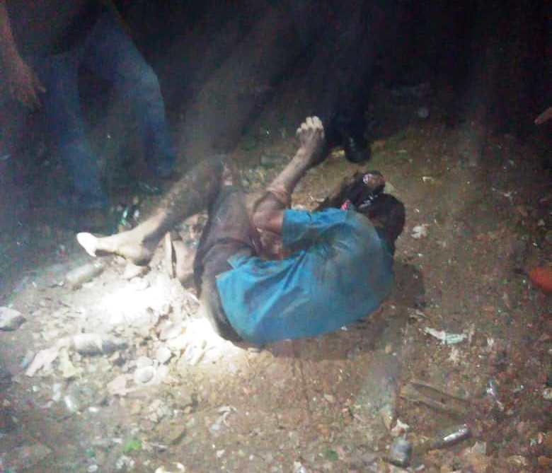 El cuerpo fue recuperado en la mina ubicada en la zona norte de Valle de la Pascua.