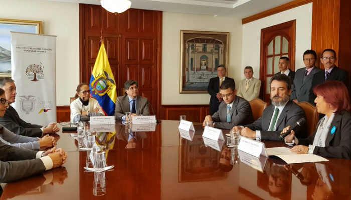 Se espera reforzar la prioridad para el Estado de Ecuador