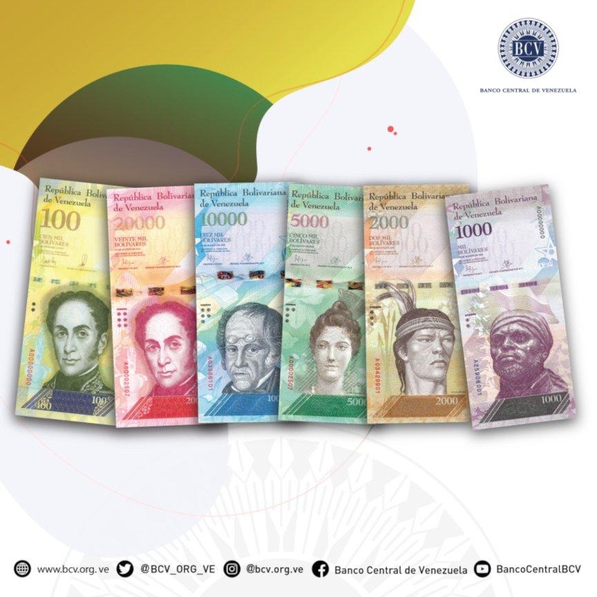Los Bolívares Fuertes salen de circulación a partir del 3 de diciembre