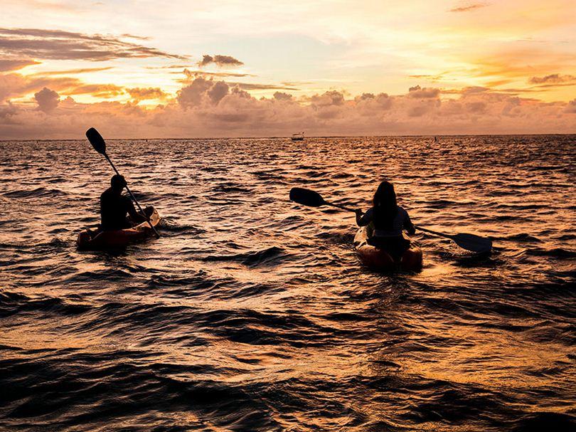 diversas actividades en la Isla Mauricio