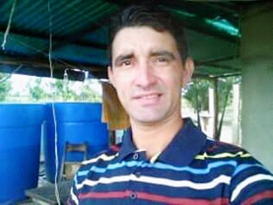 Martínez Correa Pedro Miguel de 30 años murió cuando pescaba en una laguna de Espino, estado Guárico.