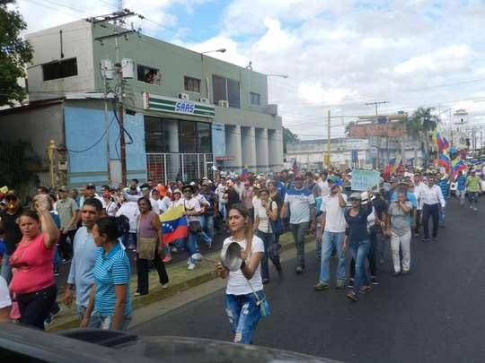 Miles de manifestantes salieron a la calle este miércoles 23 de enero.