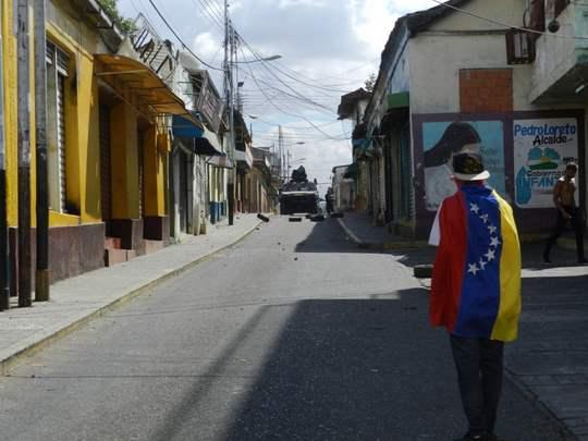 Enfrentamiento en Valle de la Pascua. Guárico