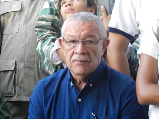 El presidente de la feria de la Candelaria Leopoldo Matos.