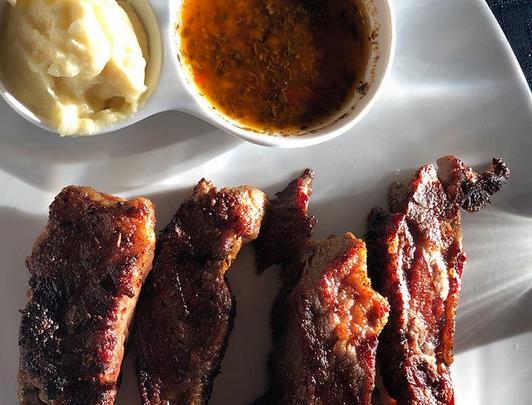 La peculiar forma de preparar las carnes.carnes rojas