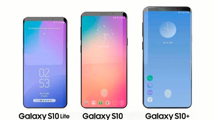 Lanzamiento presentacion modelos Samsung Galaxy S10