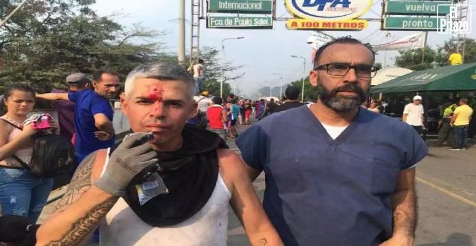 Unas 50 personas resultaron heridas en los puntos de fronteras con Venezuela.