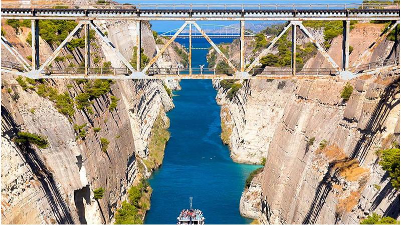 7sitios de película: El  canal de Corinto