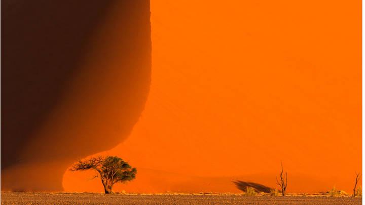 Namibia, dunas gigantescas solo igualadas con rascacielos