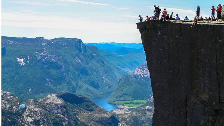 Fiordos de Noruega, emblemáticos del país.