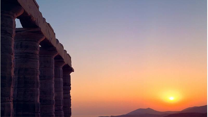 Sunio famoso por el Templo de Poseidón