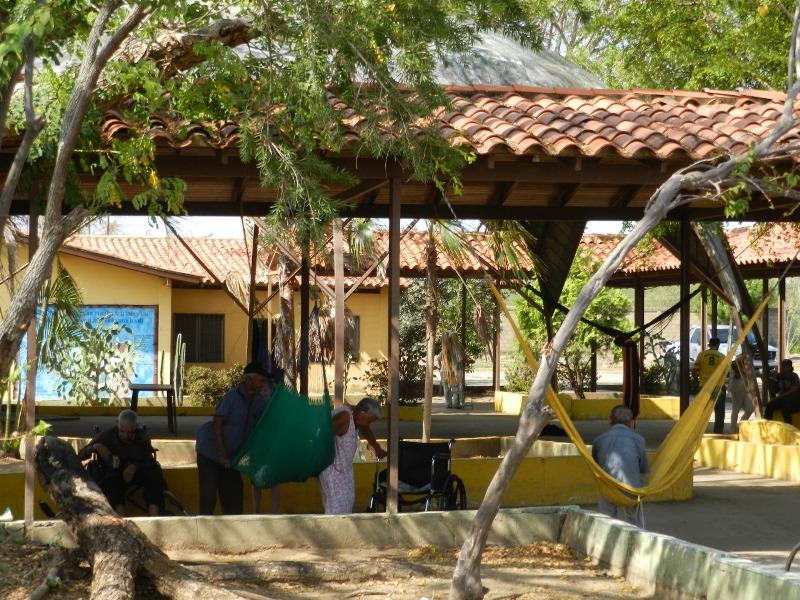 Actualmente residen 20 abuelitos en el Geriatrico de Valle de la Pascua