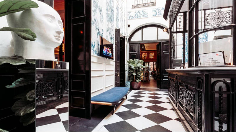 El sitio ideal. El Only You Boutique Hotel Madrid referente gastronomico