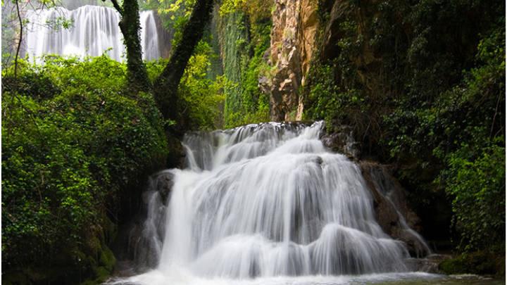 Hermosas cascadas, llenas de magia y encanto en el Monasterio de Piedra