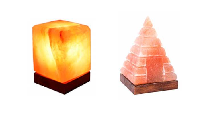 lampara de sal rosa