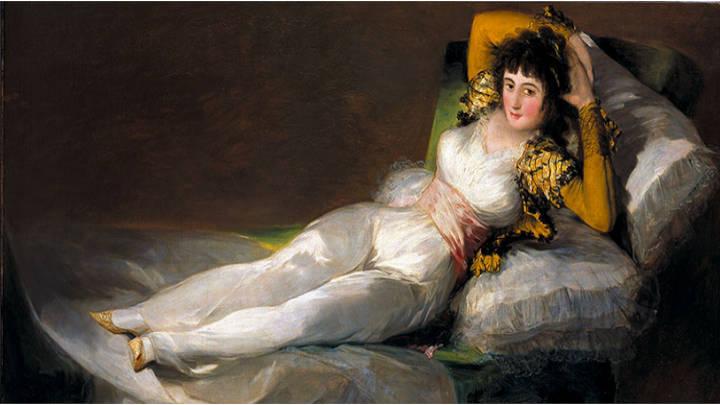 La magnífica obra de Francisco de Goya, La maja vestida