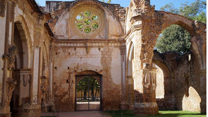 Monasterio de Piedra en la región de Zaragoza
