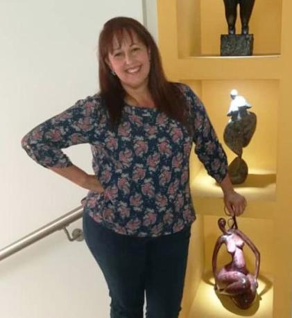 Karina Lorena Dorta Villalobos de 52 años. Asesinada por su propio hijo en Valle de la Pascua - Guárico